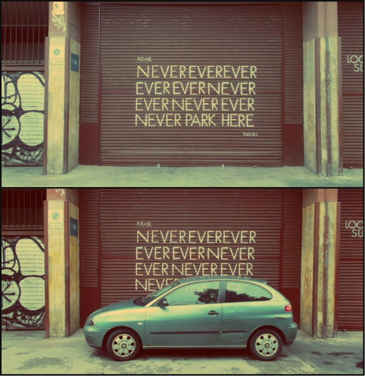 Parkovani po spanelsku